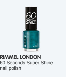 Rimmel sixty second shine nail polish