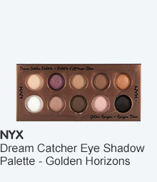 NYX Dream Catcher Shadow Palette - Golden horizons