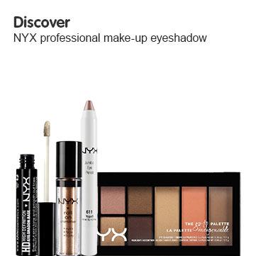 NYX cosmetics eye range