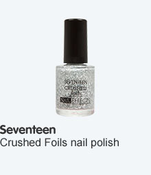 seventeen crushed foils nail polish