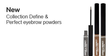 New Collection Define and Perfect brow powder