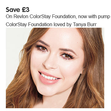 Save three pounds on Revlon ColorStay Foundation