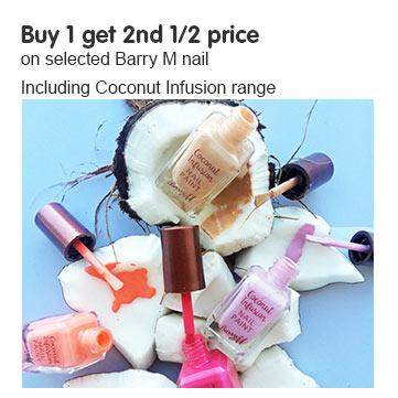 New Barry M Coconut nail polish range