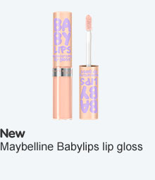 Maybelline babylips lip gloss