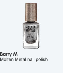 Barry M Molten metals nail polish