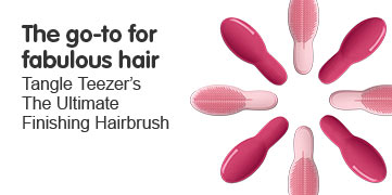 The go to for fabulous hair- Tangle Teezer The Ultimate Finishing Brush