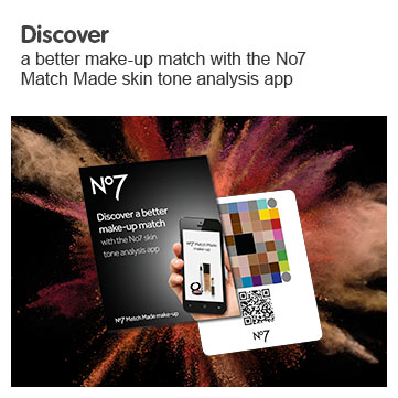 Discover a better makeup match with the number seven match made skin tone analysis app