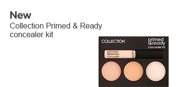 New Collection primed and ready concealer kit