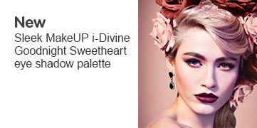 New Sleek Makeup I Divine Goodnight Sweetheart eye shadow palette