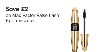 Save two pounds on Max Factor Epic mascara