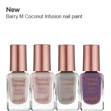 New Barry M Coconut fusion nail range