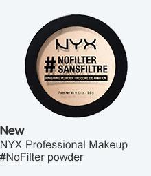 NYX No Filter powder