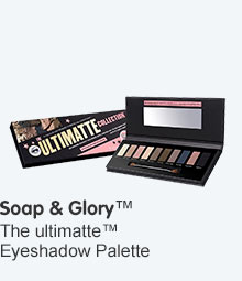 Soap and Glory ultimate eye shadow palette