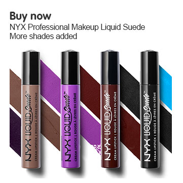 NYX Liquid Suede - More shades added