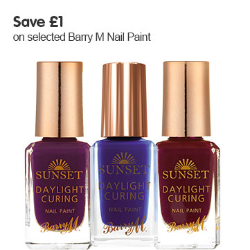 Save one pound on selected Barry M Nail Paint