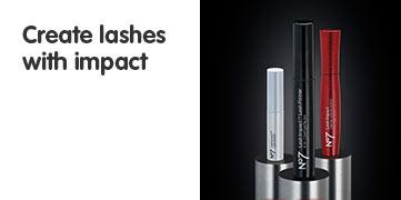 Number seven lash impact mascara