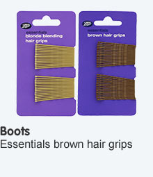 Boots hair grips