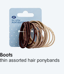 Boots hair ponybands