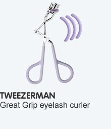 Tweezerman eyelash curlers