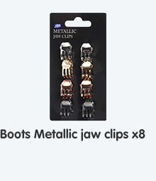 New boots metallics jaw clips