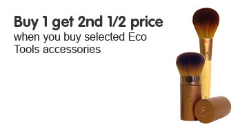 buy one get second half price on selected eco tools