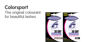 Colorsport. The original colourant for beautiful lashes.