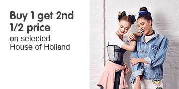 Buy one get the second half price on selected House of Holland Hair