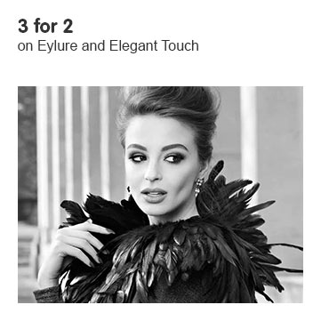 Three for Two on selected Eylure and Elegant Touch