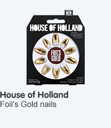 Discover Elegant Touch House of Holland Foil's Gold Nails