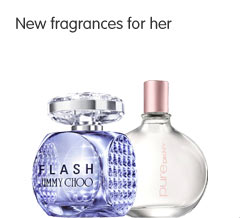 New fragrances for her