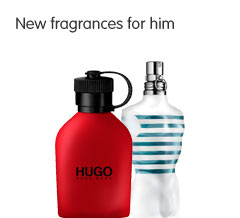 New fragrances for him
