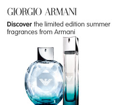 Limited Edition Armani Summer Fragrances