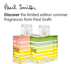 Limited Edition Paul Smith Summer Fragrances