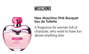 New Moschino Pink Bouquet Eau de Toilette