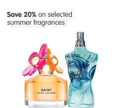 Save 20% on selected summer fragrances
