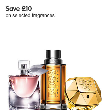 Save £10 on selected fragrances