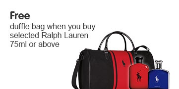 Free gift when you buy selected Ralph Lauren 75ml or above