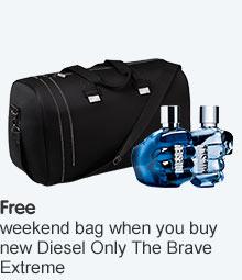 Free weekend bag wyb selected Diesel