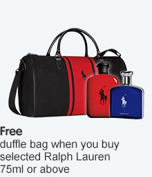 Free duffle bag wyb selected Ralph Lauren