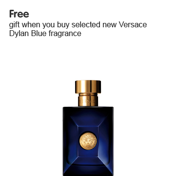 Free gift when you buy selected new Versace Dylan Blue fragrance