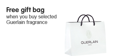 Free Gift bag when you buy selected Guerlain Fragrance
