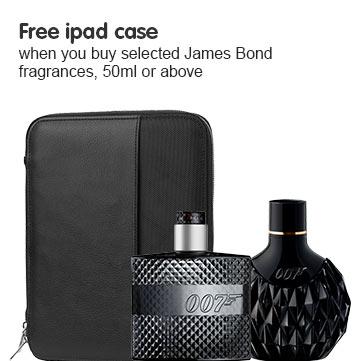 Free Jaems Bond ipad case