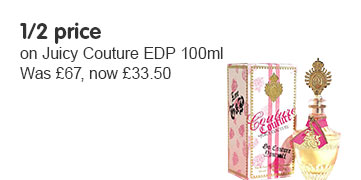 1/2 price on Juicy Couture edp
