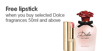 Free lipstick wyb selected DG Fragrance