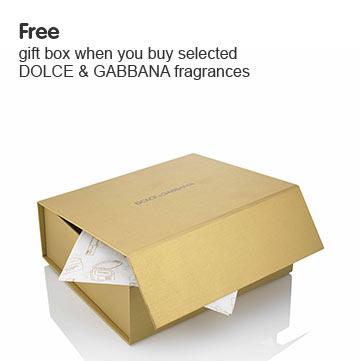Free D&G gift box
