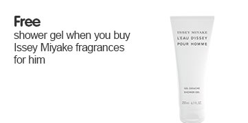 Free shower gel when you buy Issey Miyake fragrances for him