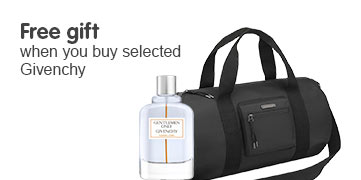 Free gift when you buy selected Givenchy