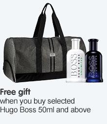 Free gift when you buy seleted Hugo Boss