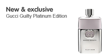 New Gucci Guilty Platinum Edition