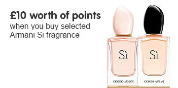 £10 worth of points on Armani Si